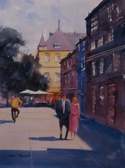 Jim Oberst - Bonn Street Scene