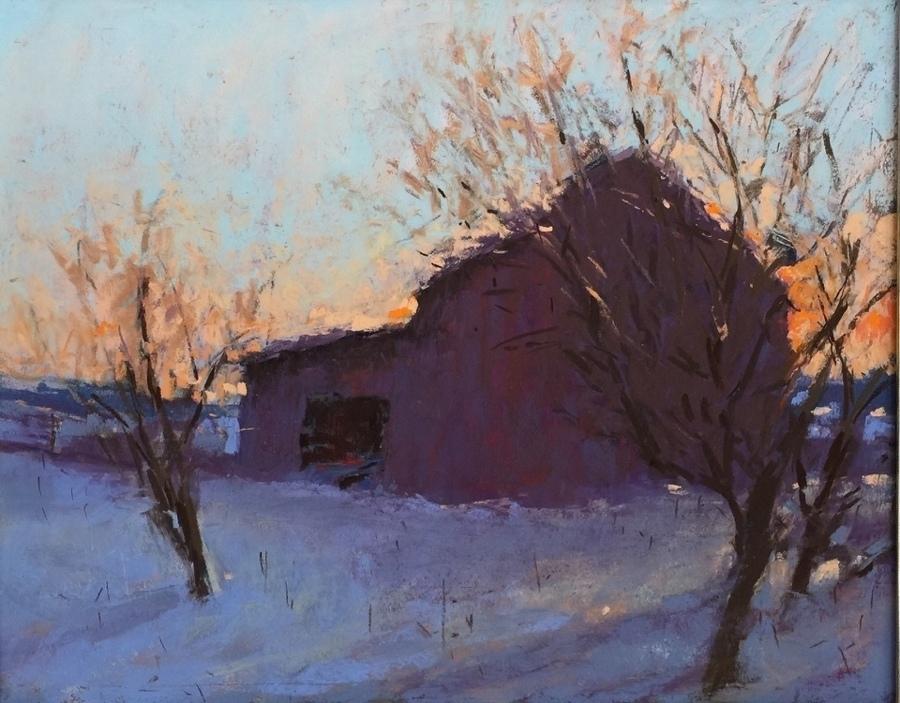 Carol Strock Wasson - Winter Sunset