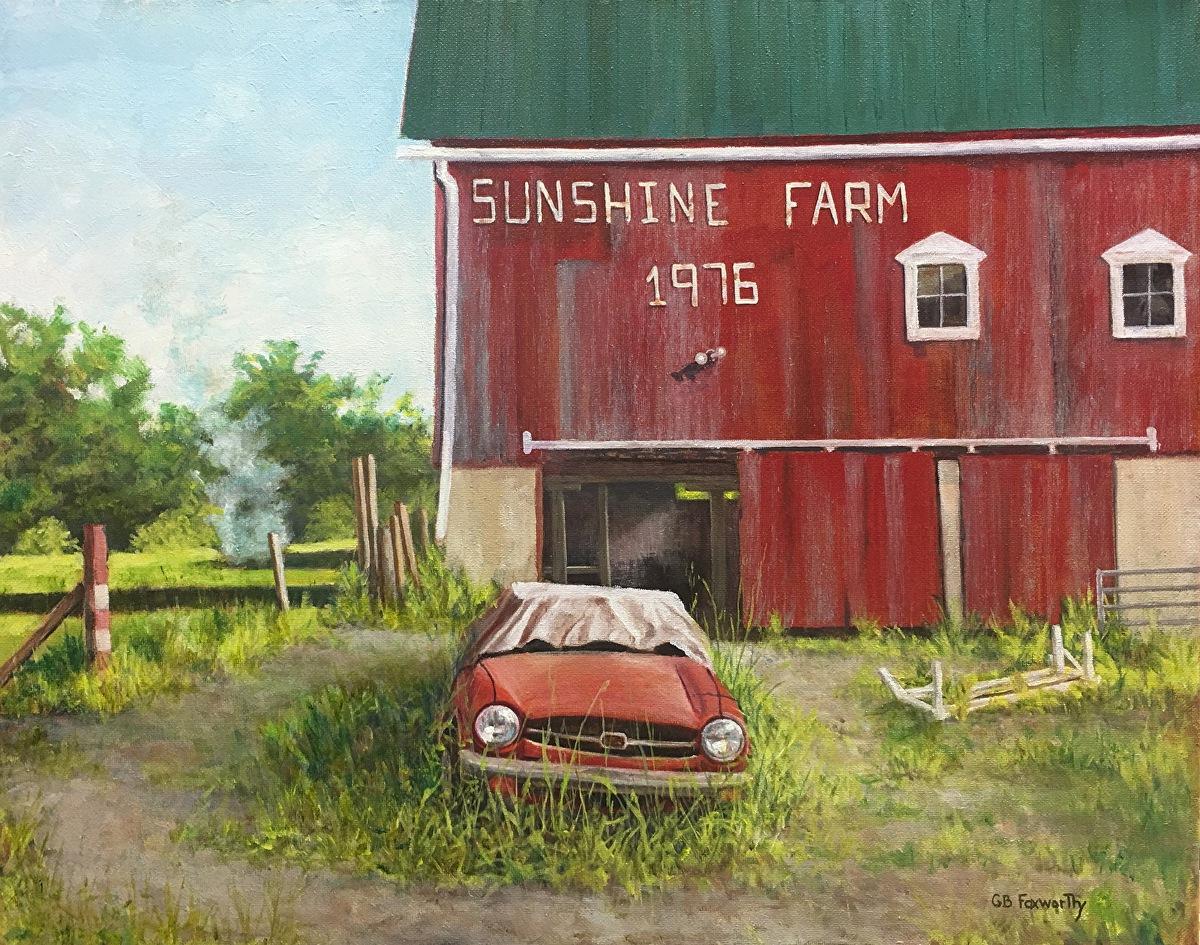 Bruce Foxworthy - The Old Sports Car At Sunshine Farm