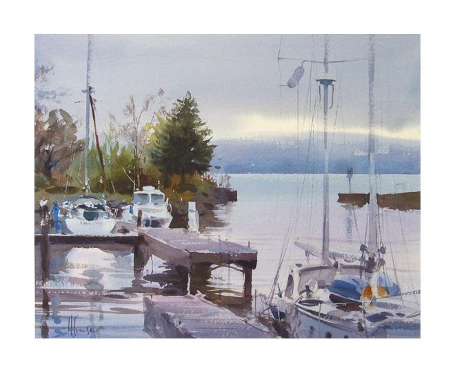 Andy Evansen - Madeline Island Mist