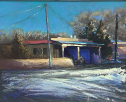 Jane Wright Wolf - Rancho de Taos Winter