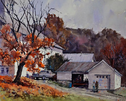 Brienne M Brown - Late Fall at Barree Forge
