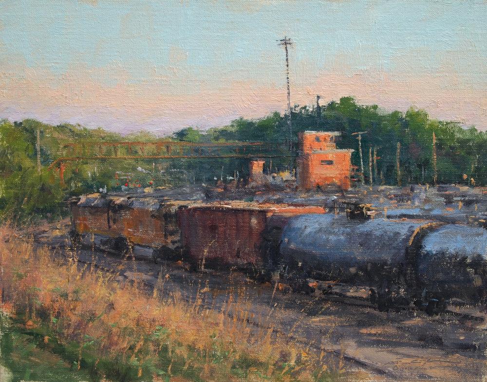 Joshua Cunningham - Evening in the St. Paul Yard