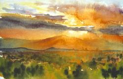 John Hulsey - Desert Sunset I