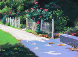 Curtis Eley - Roses on Victoria Blvd