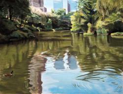 Christopher Reid - Central Park Pond