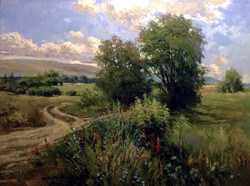 Vadim Cheliaev - The Road in the Field