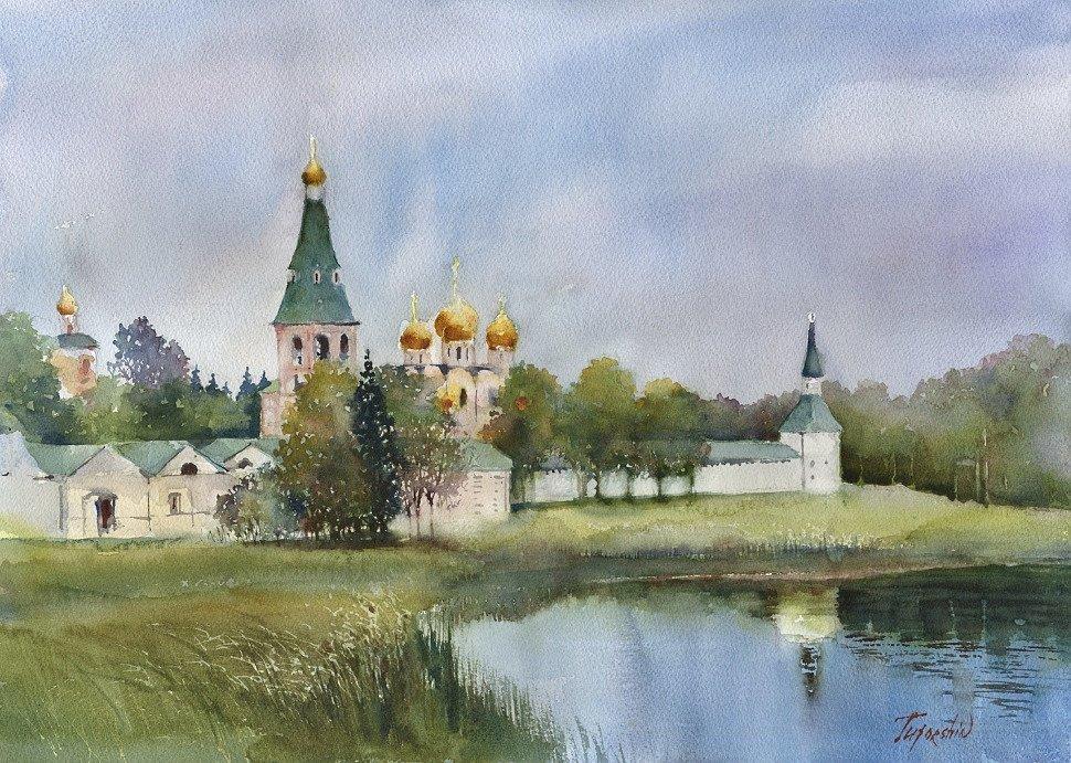 Vladimir Tuporshin - Iversky Monastery on the Valdai Lake
