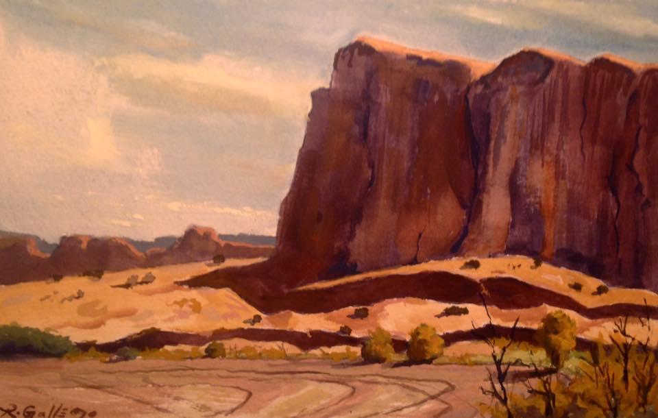 Richard E. Gallego - Canyon de Chelly