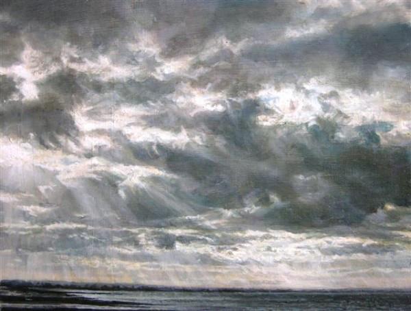 Sarah Spencer - Evening Seascape