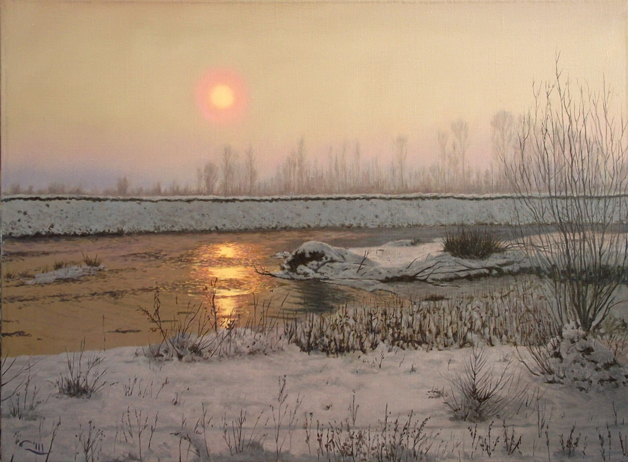 Dejan Trajković - Winter on River