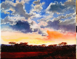 Ina Millman - Cloudscape II