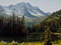 Mary M Giacomini - Island Lake