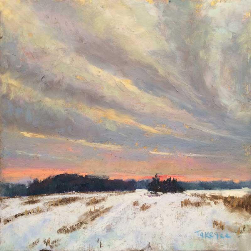 Takeyce Walter - Winter Clouds