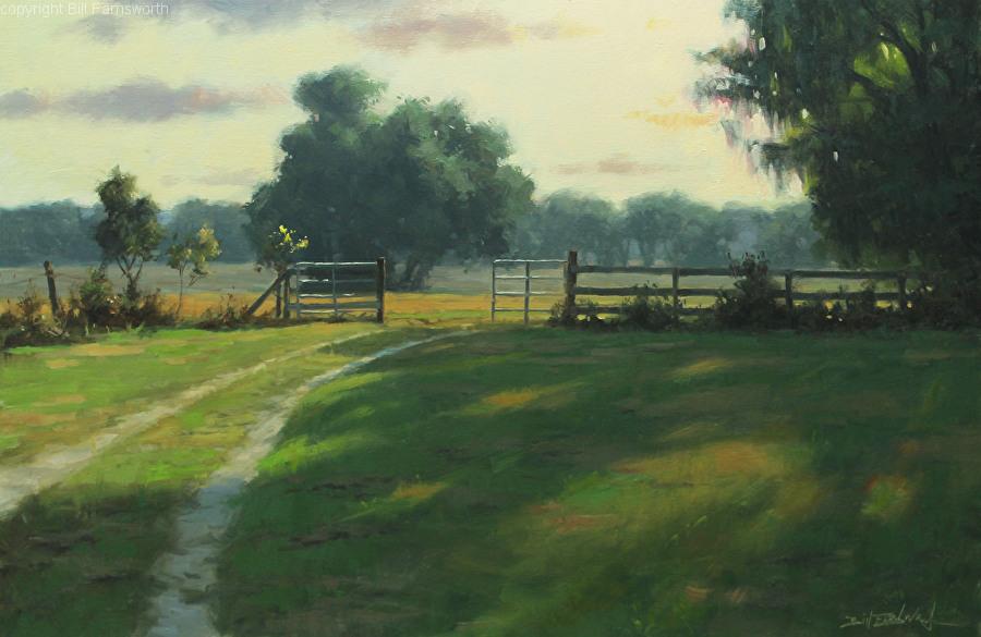 Bill Farnsworth - Oak Lane Afternoon