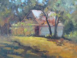 Nellie Gill - Extended Barn with Vines