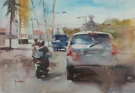 Francesco Fontana - Driving in Bali