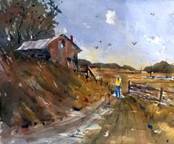David Finnell - Passing the Barn