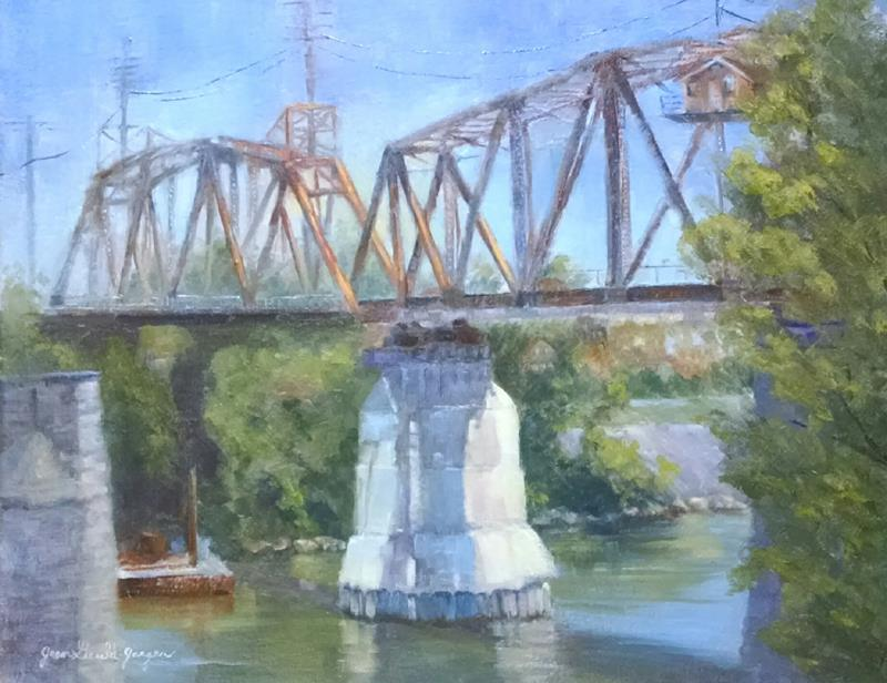 Jean Gauld-Jaeger -  Train Trestle On The Cumberland