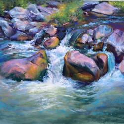 Cindy Kopenhafer - Taos Stream II