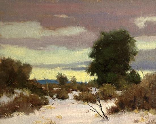Richard E. Gallego - A Gentle Winter's Eve