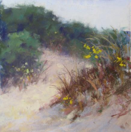Jeanne Tangney - Summer Dunes (plein air)