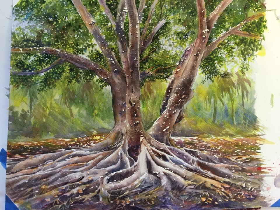 Julia Norton Stevens - Banyan Tree