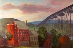 Keith Gunderson - Poughkeepsie on the Hudson