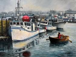 Eileen Patten Oliver - Cripple Cove, Gloucester, MA