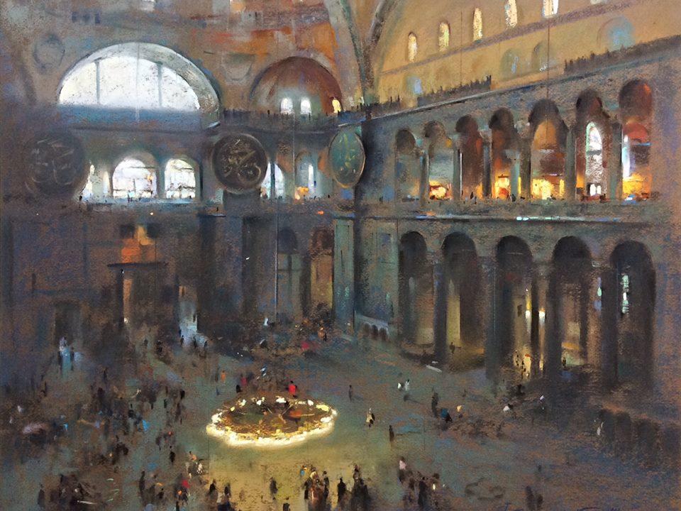 Javad Soleimanpour - Hagia Sophia