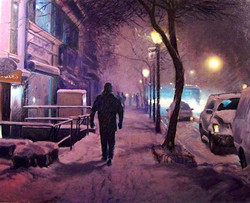 Richard Rosenblatt - Brooklyn Blizzard 2