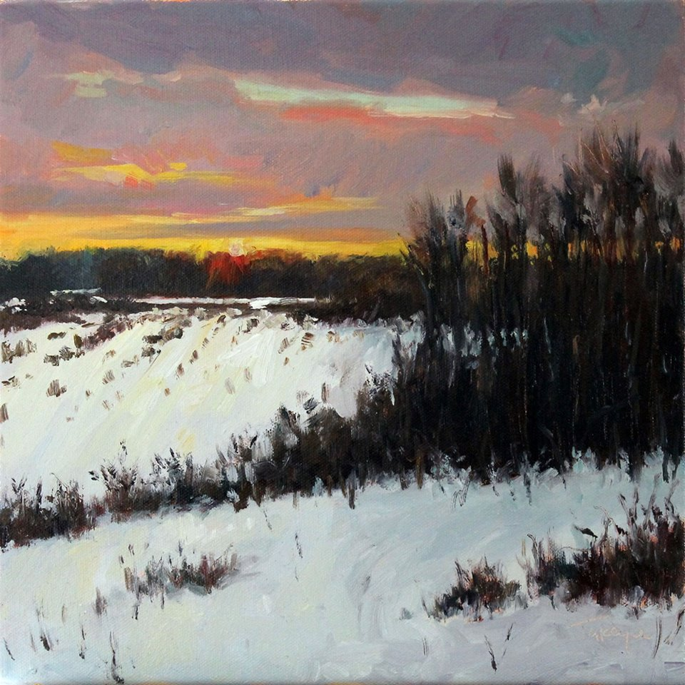 Takeyce Walter - Winter Sunset Color