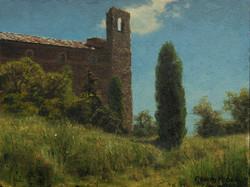 Joseph McGurl - Cortona (plein air)