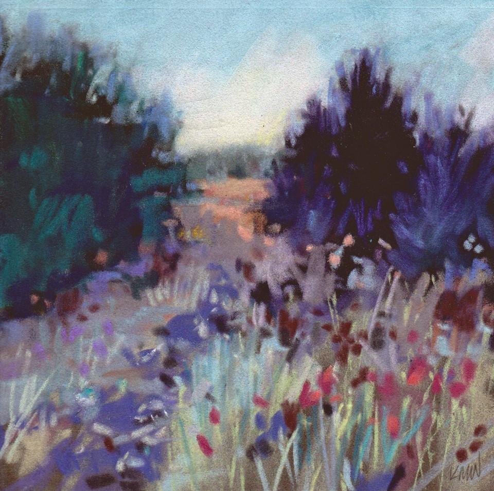 Kim Morin Weineck - Path at Dusk