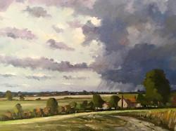 Mike Samson - Passing Rain - Near Chillenden