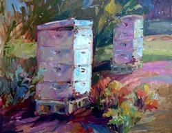 Brenda Pinnick - BeeCause (plein air)