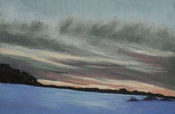 Jane Penfield - Winter Sunset