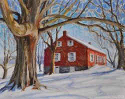Erin Gill - Old Ringgold Church in Winter