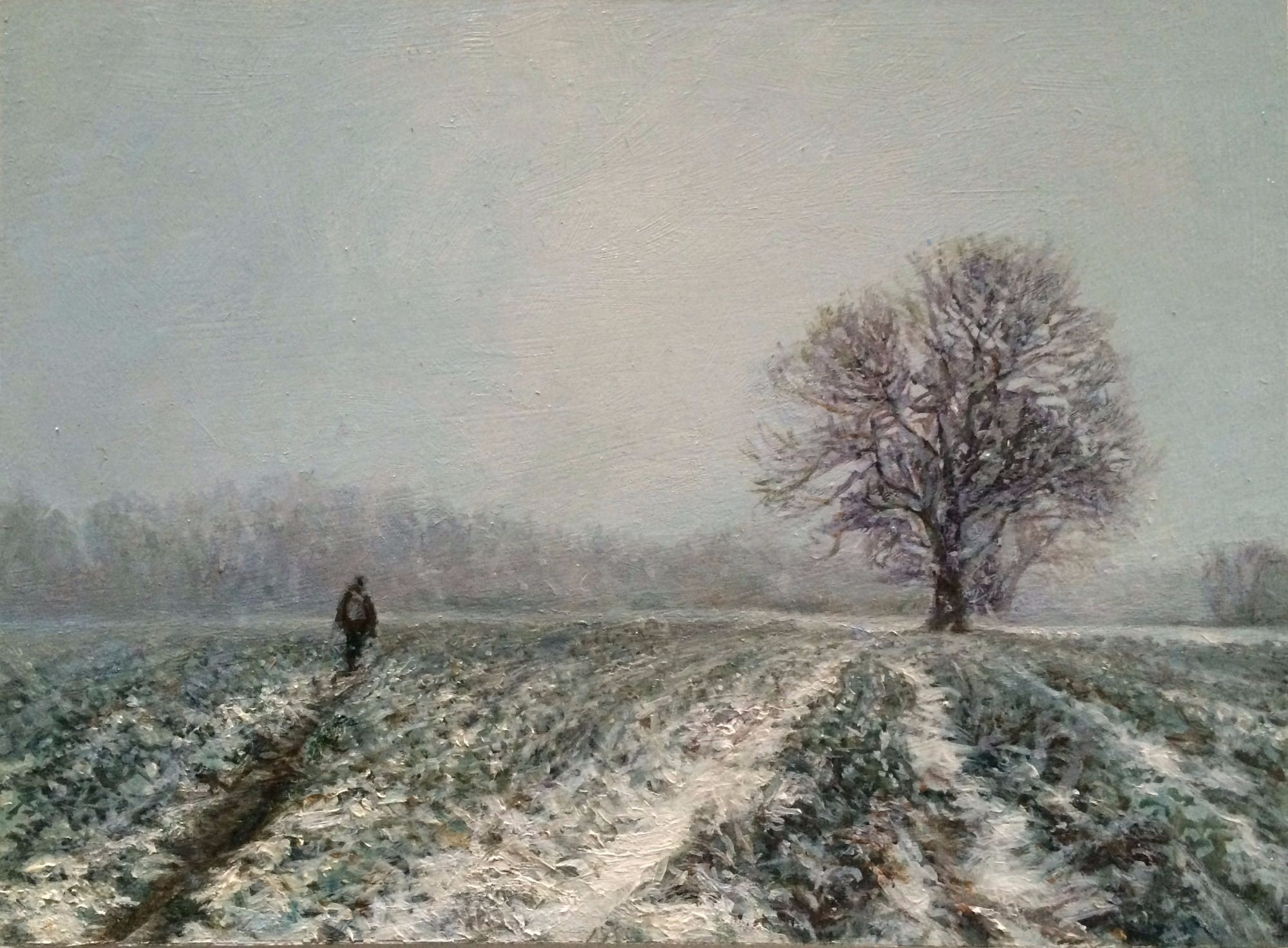 Sarah Spencer - A. in Snow, Crundale