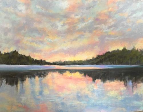 Susan Whiteman - Lake Colby Sunset