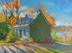 Cathy Lachance - House in Sainte-Famille