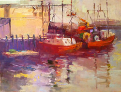 Aline Ordman - Two Boats