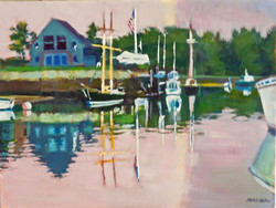 Paul Bonneau - From the Bridge, Kennebunk River