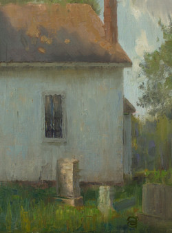 Devin Roberts - Dappled Light Along the Tombstone