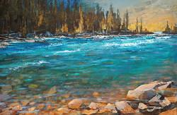 Linda Wilder - Along Elbow River
