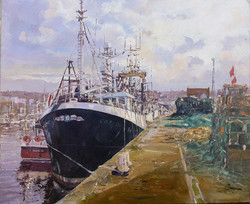 Michael Salt  - Whitby Trawler