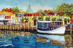 Mick Williams - Reflections (watercolor)