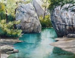 Claudia Artzmann - Turquoise Gorge
