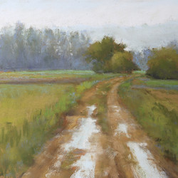 Florence Penouty - Misty Morning in Giverny