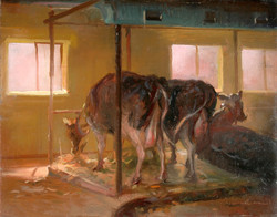 Keith Gunderson - In the  Barn